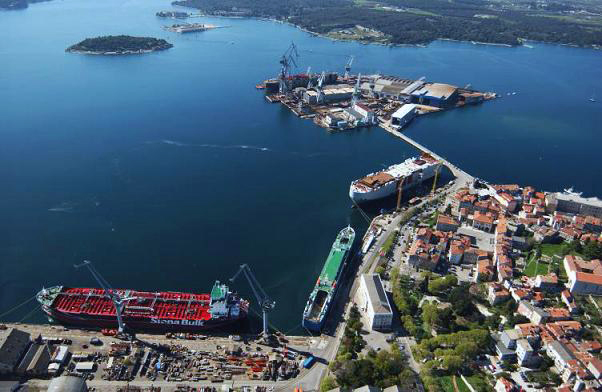 Uljanik Shipyard Pula