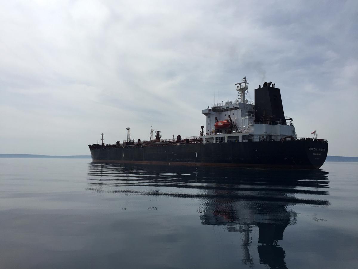 Rijeka anchorage Nord Ruth